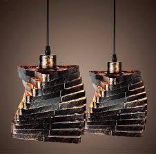 Iron Pendant Light Buy Retro Nordic Blacksmith Pendant Lamp Intense Vintage Style
