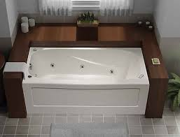 jacuzzi bathtubs canada mirolin tucson 5 feet acrylic whirlpool bathtub the home depot