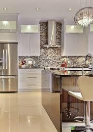 cuisine blanches cuisine luxueuse cuisine contemporaine avec de armoires