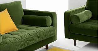 sofa green velvet sectional couch seafoam green sofa
