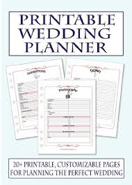 best wedding planning book free printable wedding planner book rubybursa