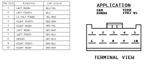 2000 honda civic radio wiring diagram wiring diagram and