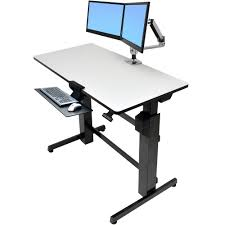 Ergotron Sit Stand Desk Standing Desk Ergotron 24 271 926 Workfit D