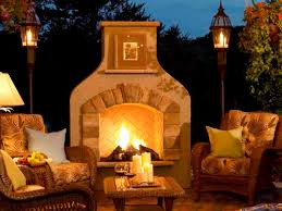 Hampton Bay Outdoor Fireplace - outdoor propane fireplaces binhminh decoration