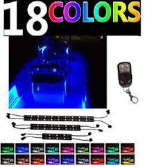 pontoon boat led light kits color changing boat led interior light kit bass yacht ski wake