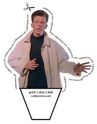 Meme Rick Astley - crafty memes the awesomer