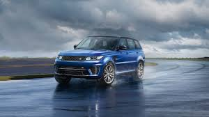 modified range rover sport range rover sport svr 2016 powerful 4x4 land rover australia