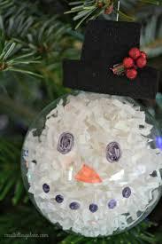 diy snowman ornament design dazzle