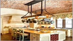 kitchen island pot rack lighting kitchen island pot rack lighting kitchen pot rack light with ceiling