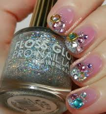 let them have polish nailartsociety the great glitzy silver
