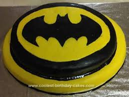 homemade batman birthday cake design cakes pinterest batman
