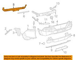 jeep chrysler 2014 jeep chrysler oem 2014 cherokee rear bumper center support