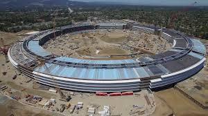 apple campus 2 new dji drone 4k video shows u0027spaceship u0027 hq six