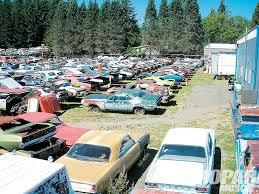 car yard junkyard mopar muscle donor rod network