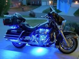 harley davidson lights accessories harley davidson 30 electra glo light pod expansion kit blue led