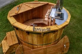 vasche da bagno legno legno vasca idromassaggio modello deluxe timberin
