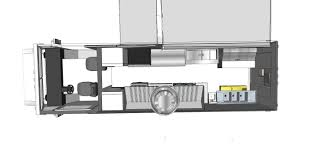 custom food trucks 3d floor plan before we build your dream on