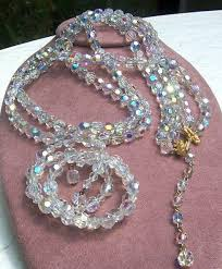 crystal vintage necklace images Learn how much your vintage costume jewelry is worth pinterest jpg