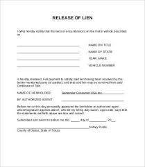 waiver of lien template lien release form 8 free word pdf documents free
