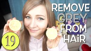 how to easily remove hair color with lemons youtube