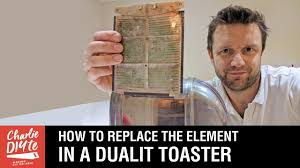 Dualit Toaster Spares How To Replace The Element In A Dualit Toaster Youtube