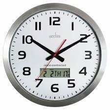 acctim meridian radio controlled wall clock 74447 costco uk