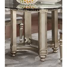Glass Top Round Dining Tables by Danette Round Dining Table U2013 Jennifer Furniture