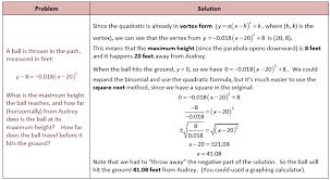 quadratic applications she loves math