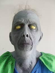 halloween costume white eyed zombie orc mask fanraro