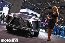 lexus lf nx interior frankfurt 2013 lexus lf nx crossover concept motoring middle