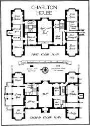 country house floor plan charlton house first floor plan and ground floor plan country