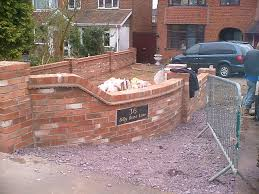 front garden wall designs phenomenal brick cap google search walls