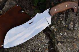 handmade hunting knife tactical style modern chopper full tang