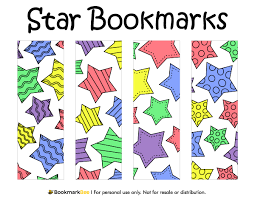 free printable star bookmarks download the pdf template at http