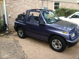 chevy tracker 1995 geo tracker paint job classic cars and tools