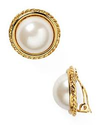 clip on pearl earrings clip earrings bloomingdale s