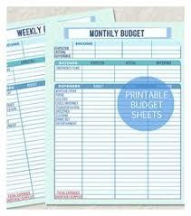 simple weekly budget template worksheet excel format weekly