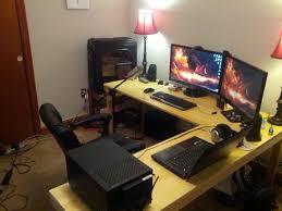 Atlantic Gaming Desk by Black L Shaped Gaming Desk Decorative Desk Decoration