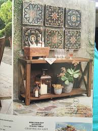 Pottery Barn E Commerce Pottery Barn Sahara Printed Wall Tiles Outdoor Space