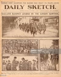 london scottish regiment in france world war one pictures
