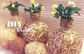 Diy Plastic Bottle Vase Diy Recycle Vase From Plastic Bottles