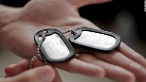 his and hers dog tags two soldiers and their are bound by war and children cnn