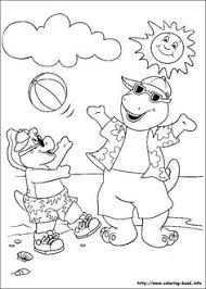 barney coloring pages 01 coloring animals u0026 bugs