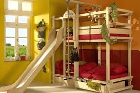Bunk Bed Slide Bunk Beds With Slide Apartments Stylized Loft Bed With Slide Bunk