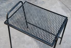Patio Side Tables Metal Metal Patio Side Table