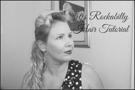 pinup clip in ponytail with bangs rockabilly pinup girl hair tutorial