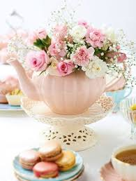 kitchen tea theme ideas best 25 tea centerpieces ideas on teacup