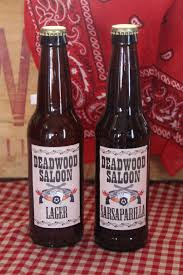 serve up customized ale or sarsaparilla root beer at your saloon