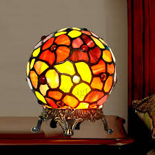Stained Glass Light Fixtures Tiffany Stained Glass Lamps Ball Shaped