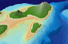 Maui Hawaii Map Main Hawaiian Islands Multibeam Bathymetry Synthesis